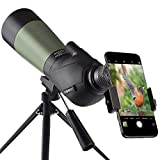 Gosky 20-60x60 HD Spotting Scope...