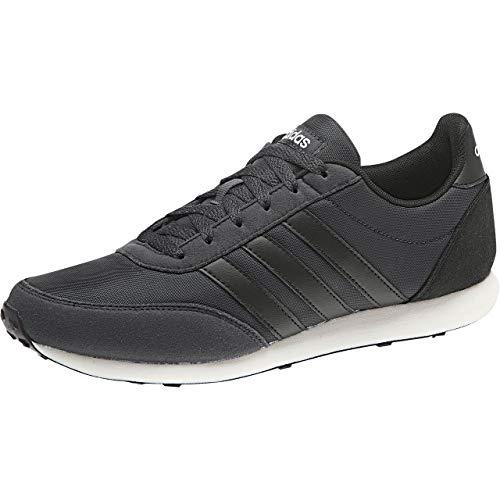 Adidas V Racer 2.0, Zapatillas de Deporte Hombre, Gris (Carbon/Negbás/Negbás 000), 40 EU