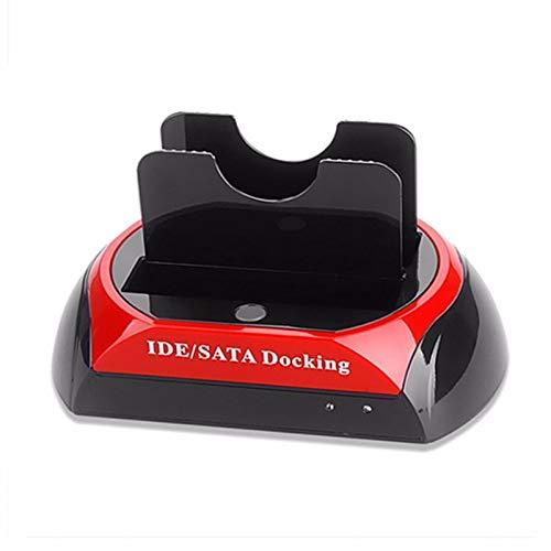 TenYua 2.5' 3.5' IDE SATA USB 2.0 Dock HUB Dual HDD Hard Drive Disk Docking...