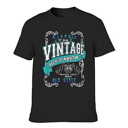 Vintage 1970 Aged Perfection Camisetas - Regalos de cumpleaños retro para hombre