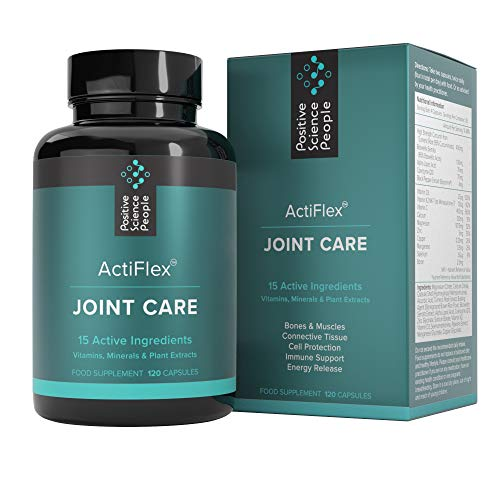 Ultimate Joint Care Supplement | 15 Potent Vitamins for Joints & Bones | Immune Support & Energy Boost | High Strength Curcumin/Turmeric, Boswellia, Boron, Vitamin D3, K2 | 120 Capsules