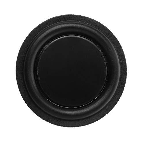 certylu 52mm Passive Radiator Subwoofer-Lautsprecher Vibrationsmembran Bassgummi-Tieftöner
