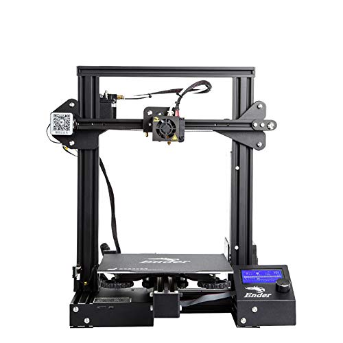 3DBUYER Creality Ender 3 3D Printer With Resume Printing Function 220x220x250mm - Upgraded Build Surface Plate