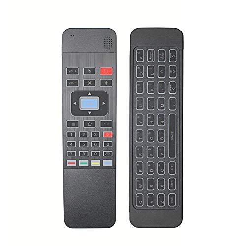 Air Mouse 2,4 GHz mini draadloos toetsenbord met touchpaneel, afstandsbediening met achtergrondverlichting, beste voor tv-box, smart tv, pad, pc, laptop, projector