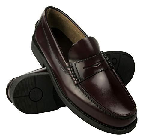 Zerimar Zapatos Castellanos Hombre   Mocasin Antifaz Hombre   Mocasin con Borlas para Hombre   Zapatos de Vestir Hombre Fabricados en España