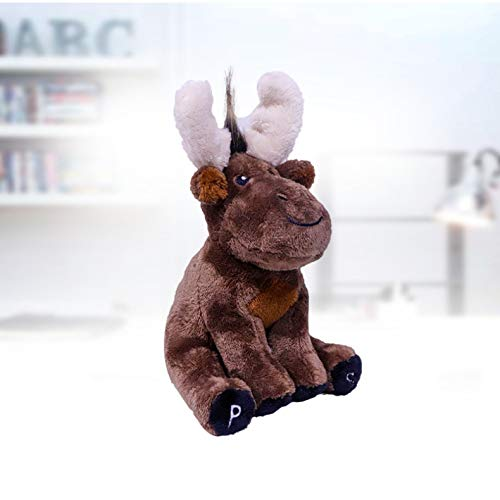 Cartoon rendier knuffel Schattige kleine hert pop geven vriendin cadeau 20cm Fawn
