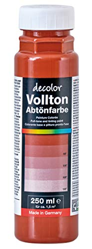 Decolor Abtönfarbe Ziegelrot