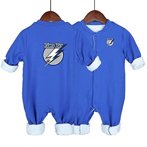 ZGRNB Eishockey Trikot NHL Sportfan Baby Creepers Strampler Florida Panthers Atlanta Thrashers Tampa Bay Blitzhöhe 59 cm-90 cm