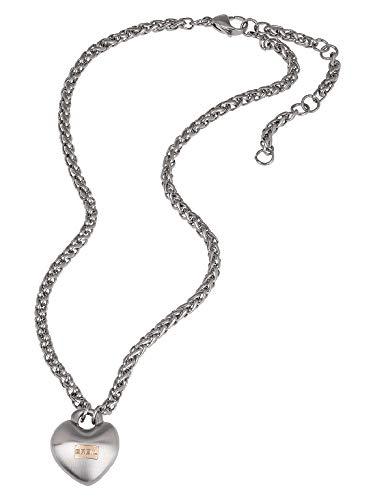 Breil Gioiello Collezione Kilos of Love, Collana da Donna in Acciaio Colore Silver Misura 48CM - TJ2855