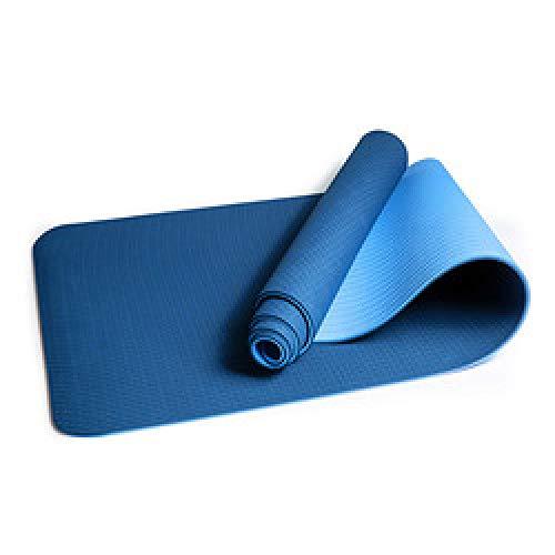 Nanb-J - Esterilla de yoga (antideslizante, 1 cm de grosor, ideal para entrenamiento en casa)