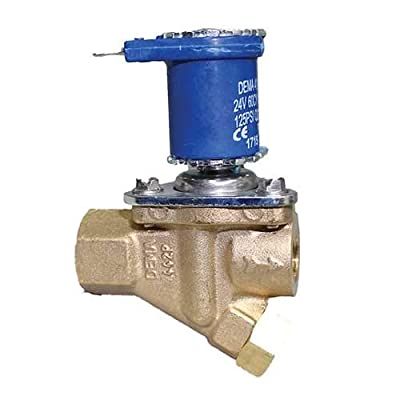 Dema 442P.3 Nc 1/4Inch Diaphragm Valve Compatible Epdm Seal and 24 Vac Spade Coil from Dema Engineering