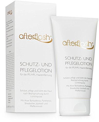 AfterFlash Schutz- und Pflegelotion für die IPL/HPL Haarentfernung, IPL Nachbehandlungs-Lotion