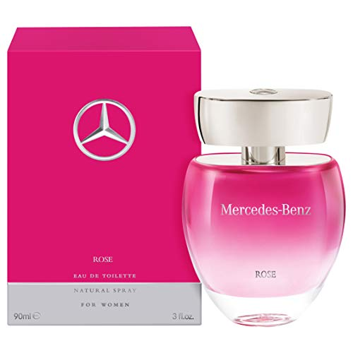 Mercedes-Benz Rose For Women Eau de Toilette Rose Nat. Spray, 90 ml