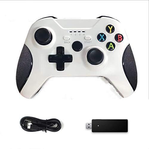 ワイヤレスコントローラー、2.4GゲームジョイスティックXboxOneコントローラーPs3 / AndroidスマートフォンゲームパッドWinPc 7/8/10 03