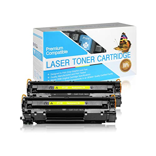 SuppliesOutlet Compatible Toner Cartridge Replacement for Canon 128 / 3500B001AA (Black,2 Pack)