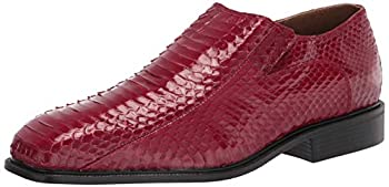 Giorgio Brutini Men s G-15521 Slip-On Loafer Red 12 Wide