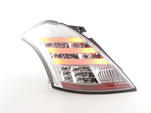 FK Automotive FKRLXLSU13007 Feux arrière LED, Chromée