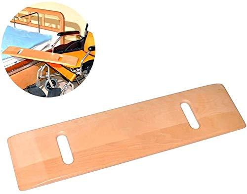 WANGPP Heavy Duty Patient Slide Assist Gerät for Senioren und Behinderte, Holz Umsetzhilfe mit Griffen Rollstühle Transfer-Aid & Gleitbrett 6.20
