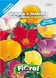 Sementi da fiore di qualità in bustina per uso amatoriale (ESCOLZIA O PAPAVERO DELLA CALIFORNIA IN MISCUGLIO)