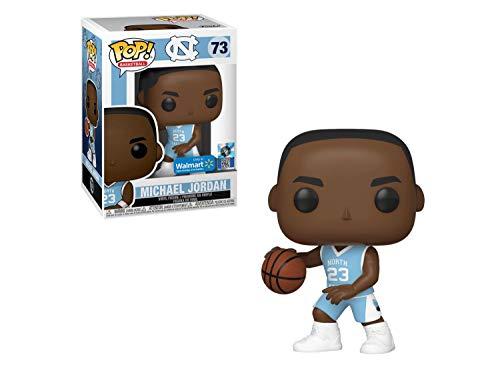 Funko Pop! Balón de baloncesto: UNC Michael Jordan (Home Jersey) exclusivo