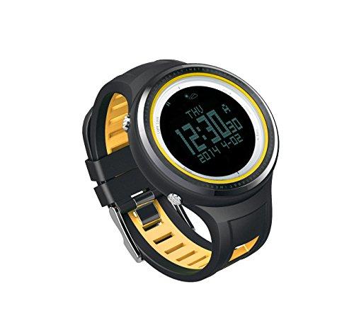 Sunroad FR800NB Montre de Sport avec Boussole numérique, altimètre, thermomètre, baromètre et Plus (10 Fonction Sport en Plein air Watch)
