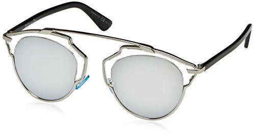 Dior Damen Diorsoreal Dc Sonnenbrille, Schwarz (Palladium Crystal), 48