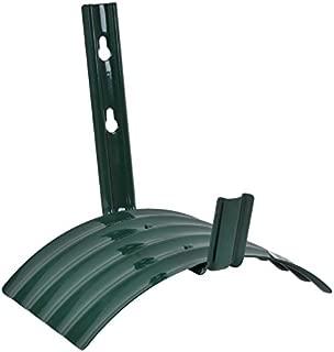 Rocky Mountain Goods Metal Garden Hose Hanger - Heavy Duty Rust Proof Steel - Easy Wall Mount Hose Hanger