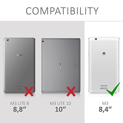 kwmobile Huawei MediaPad M3 8.4 Hülle - Silikon Tablet Cover Case Schutzhülle für Huawei MediaPad M3 8.4 - 5