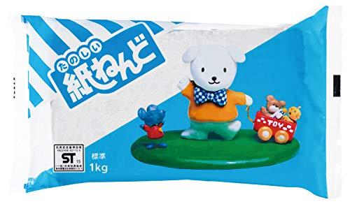 パジコ 紙粘土 たのしい紙ねんど 1kg 日本製 202115