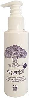 Argan Oil - Crema Styling Anticrespo - Trattamento Balsamo Professionale per Capelli Secchi e Crespi con Olio di Argan - P...