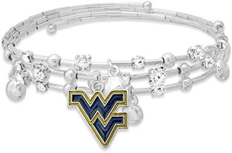 FTH Stella Bracelet West Virginia University Mountaineers product image