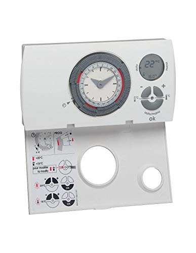 Thermostat ambiance programmable 230V : 56572 – Hager