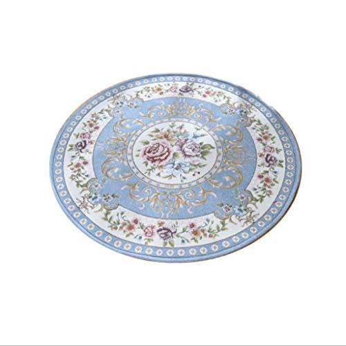 Rond tapijt deurmatten ronde cake salontafel deken mand stoel kussen anti-slip rond pad 90cm diameter