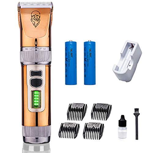 Kinderhaarclipper-trimmer elektrisch afneembaar lemmet led-display baby kappersset scheerapparaat mute-spoelbak oplaadbare woning