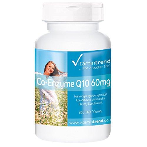 Coenzima Q10 –Ubiquinona – 360 comprimidos – tratamien