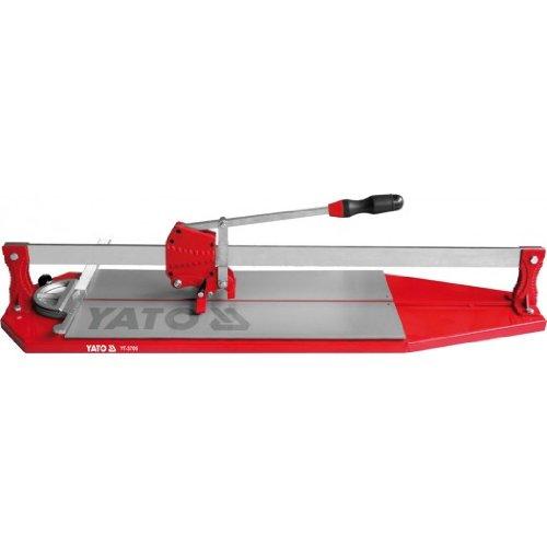 YATO YT-3705 - cortador de baldosas de 900 mm, YG6X, rueda de corte: 22x6x5mm