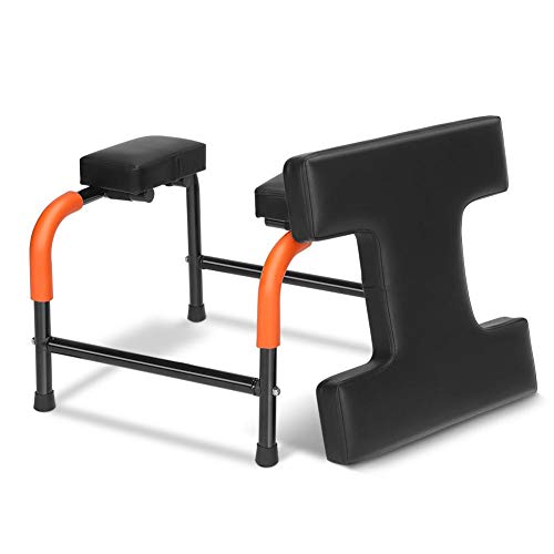 HURRISE Yoga Headstand Chair, Detachable Seat Yoga Chair Inversion Bench Headstander Body Strengthen Fitness Holder for Home Office