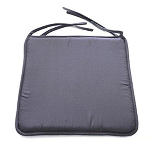 Cojín para silla suave y lavable, 40 cm x 40 cm, para...