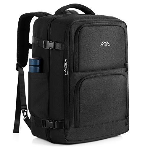 Handgepäck Reiserucksack,Rucksack Herren,Trekkingrucksack 40 Litern Großer Reiserucksack mit Tragegriff und Schultergurt