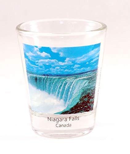 Niagara Falls Canada Color Photo Shot Glass