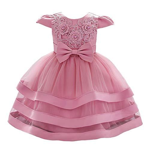 Lito Angels Vestidos para niñas bebés Vestido de niña de Las Flores...