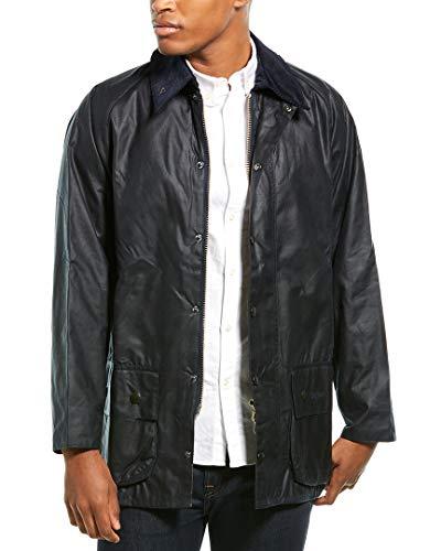 Barbour Herren Beaufort Wax Jacket Jacke, Blau (Navy 000), Small (Herstellergröße: 38)
