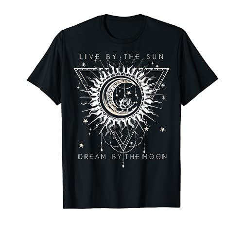 Live By The Sun Dream By The Moon Boho Premium T-Shirt