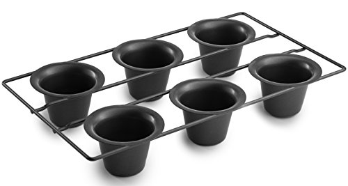 Bellemain 6 Cup Nonstick Popover Pan