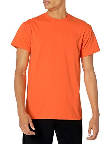 Gildan Men's G2000 Ultra Cotton Adult T-shirt, Safety Orange, X-Large