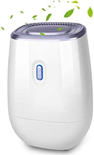TRUSTECH Electric Dehumidifier - 41oz Capacity Dehumidifier, Portable, Auto Air Dehumidifiers, Quiet, Up to 220 sq ft, Anti Overflow Dehumidifier for Home Bathroom Bedroom Closet Office Basement
