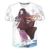 yinying Anime T-Shirt Rustikales Blade 3D Kurzarm T-Shirt-XT-2334_2xLarge.