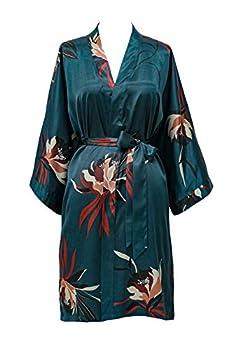 Best short silk kimono robe Reviews