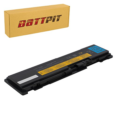 BattPit Laptop Battery for Lenovo 42T4832 42T4833 51J0497 42T4691 42T4688 42T4690 42T4691 ThinkPad T400s T410s (S version only) - High Performance [6-Cell/3600mAh/39Wh]
