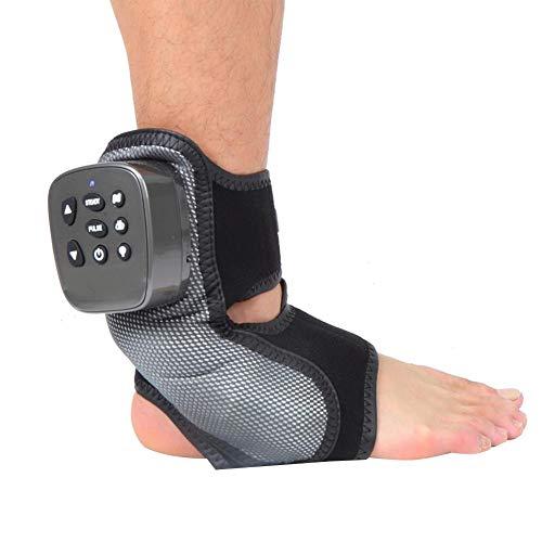 Masajeador eléctrico de tobillo de pie, masajeador de tobillo calefactado Masajeador de...